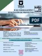 Afiche y Syllabus Form. y Eval. de Proy. 2014