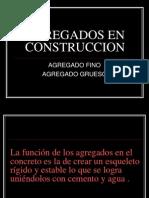Agregados en Construccion