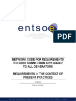 120626 - NC RfG - Requirements in the Context of Present Practices