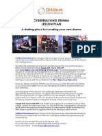 BULLYING Cyberbullying Drama Lesson Plan