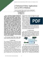 Dual Glucose Cholesterol Meter Applications