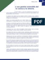 AA Agenda Getion Sostenible Del Agua, Cuenca y Mineria