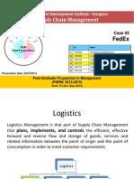 FedEx Integration of Technology SCM Latest