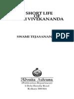 A Short Life of Swami Vivekananda by Swami Tejasananda (115p) (1)