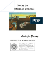 Apuntes Garay - Relatividad General - Universidad Complutense de Madrid (1)