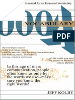The 4000 English Words Essential for an Educated Vocabulary