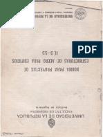 Norma Para Proyectos de Estructuras de Acero IE3-53