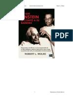 Lo Que Einstein Le Conto a Su Barbero - Robert L Wolke