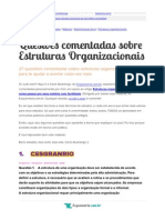 27 Questoes Comentadas Estruturas Organizacionais