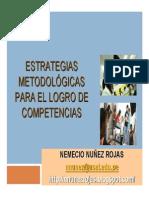Metodologías Para El Logro de Competencias