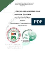 Descripcionespecies_0rnamentales en Riobamba
