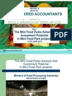 Mini Food Parks Scheme