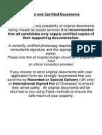 20 Original Documents
