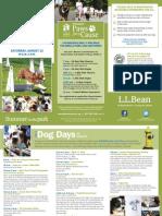 2014 L.L.Bean Dog Days of August Schedule