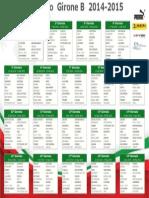 Calendario Lega Pro B