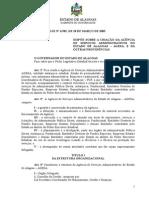 Lei 6582, de 18-03-05 AGESA