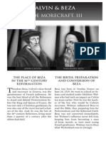 2010 Issue 4 - Calvin and Beza - Counsel of Chalcedon