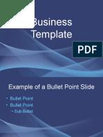 Subtle Waves powerpoint template