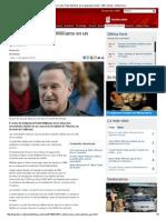 Muere El Actor Robin Williams en Un Aparente Suicidio - BBC Mundo - Última Hora