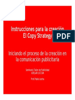 Copy Strategy Diapos