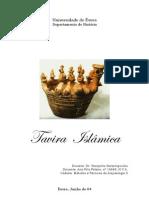 Tavira Islâmica -  2º semestre