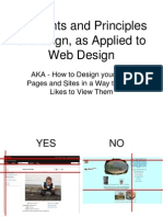 design in webpage creation