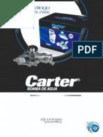 Catalogo - CARTER - 2010 - Bombas Agua