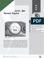 Barisan, Deret, Dan Notasi Sigma-Bab 5
