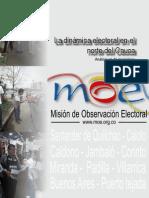 CAUCAWEB Moe Dinamica Electoral en El Norte Del Cauca