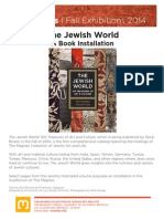 The Jewish World | A Book Installation (2014)