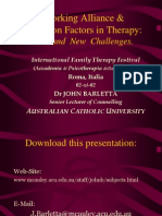 Common Factors in Psychotherapy 12