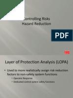10 Hazard Reduction