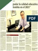 Entrevista Ministro Gestion 050814