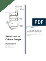 Sieve Tray Extractor