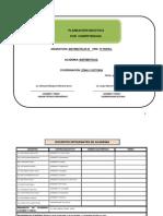 Planeacion Ejemplo Matematicas