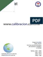 Magnitudes Calibracion