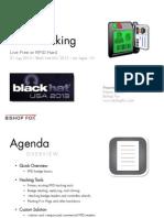 Brown - RFID Hacking Live Free or RFID Hard Slides