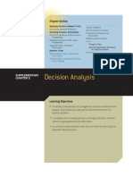 Sample Decision Analysis 1