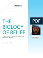 Biology of Belief (Summary)