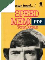 Tony Buzan-Speed Memory