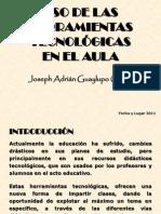Ponencia[1]-HERRAMIENTAS TECNOLOGICAS.pptx