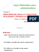 1.2 Inferencia Lógica