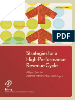 Strategies for a High Performance Revenue Cycle