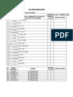 Calendarización AVB 15-I