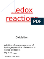 Redox reactions1