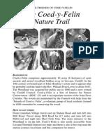 Coed y Felin English Nature Trail Leaflet