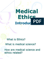 Medical Ethics for doctors