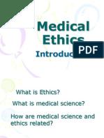 Medical Ethics for doctors