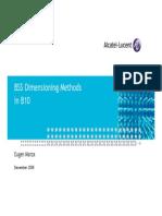 Alcatel B10 Dimensioning Methods