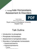 Phosphate Homeostasis - Slides